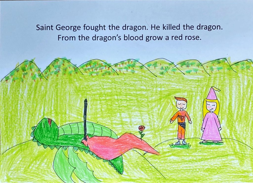 Draw of Saint George by Swap Family